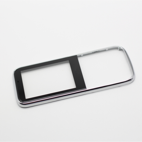 Customized plastic products for front cover of mobile phone ferry