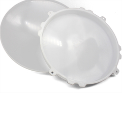 Transparent shell plastic products