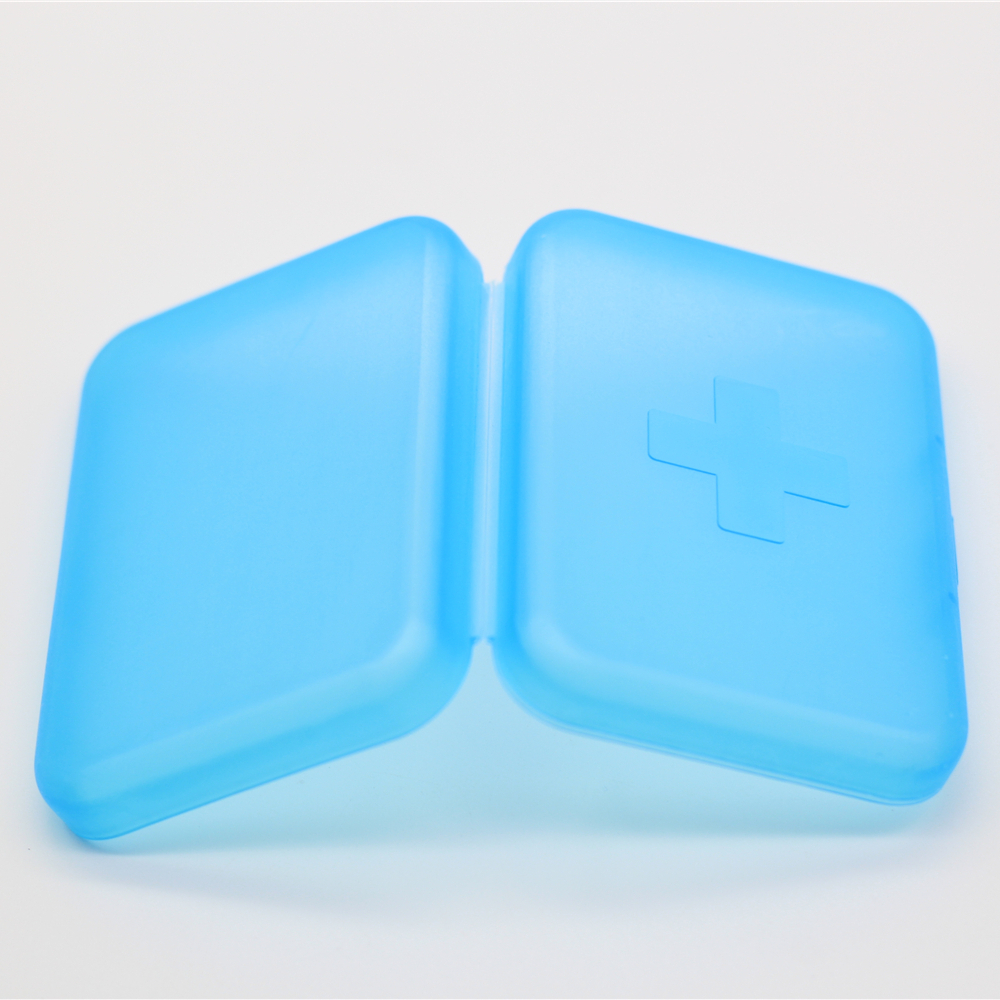 Provide Small Molding Injection Molding Square Medicine Box.